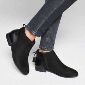 Boots détail nœud La Redoute Collections