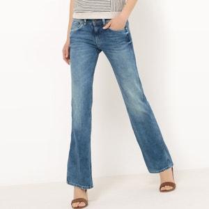 Jeans bootcut desbotados PEPE JEANS