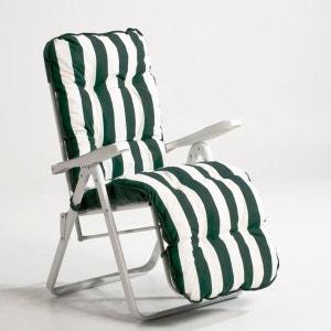 Chaise longue transat la redoute - Fauteuil relax la redoute ...