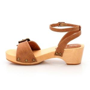 Sandali con suola in legno abcd'R