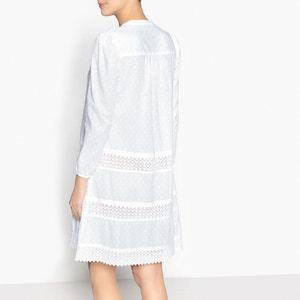 Camisa de dormir, detalhe bordado La Redoute Collections