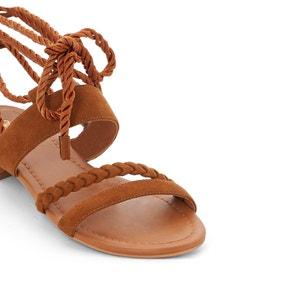 Sandales plates dessus synthétique CASTALUNA