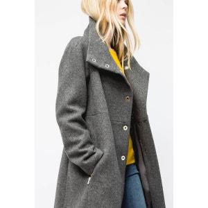manteau mi-long droit louison SINEQUANONE