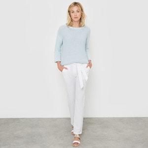Pantaloni 7/8 lino / cotone La Redoute Collections