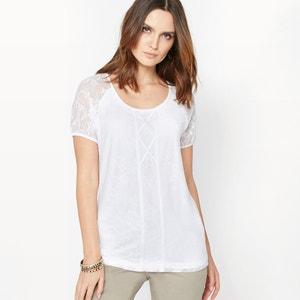 Camiseta de punto vaporoso ANNE WEYBURN
