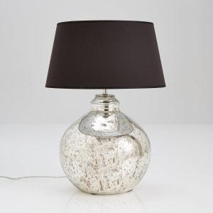 Pie de lámpara de cristal mercurizado Elda La Redoute Interieurs