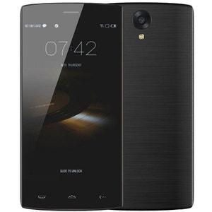 Smartphone 4G Android 5.1 Quad Core dual SIM 5.5 pouces 16 Go noir Yonis