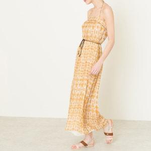 Silk Maxi Dress POMANDERE