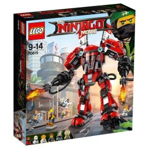 L'Armure de Feu LEGO