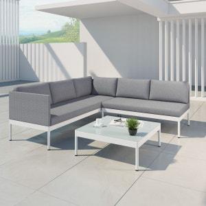 Salon de jardin bas aluminium | La Redoute