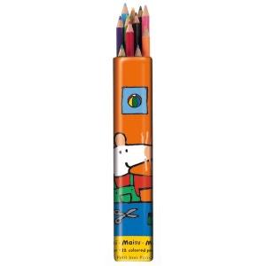 12 crayons de couleur Mimi la Souris - Petit Jour Paris PETIT JOUR