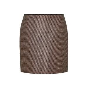 Jupe taille haute en jacquard Fil textile HALLHUBER