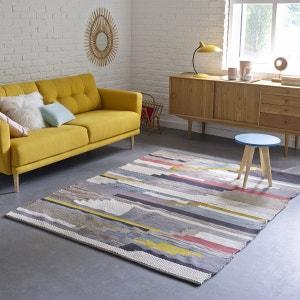 Alfombra de lana y algodón, Akenza La Redoute Interieurs