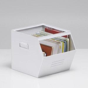 Caja apilable de metal galvanizado, Hiba La Redoute Interieurs