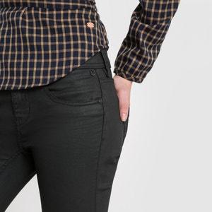 Clara Stretch Enduit Slim-Fit Jeans, Length 32