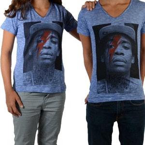 Tee Shirt Wizka SS Wiz Khalifa Mixte (Garçon / Fille) Bleu Graza LITTLE ELEVENPARIS