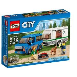 La camionnette et sa caravane - LEG60117 LEGO