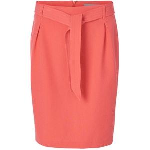 Plain Straight Knee-Length Skirt VERO MODA