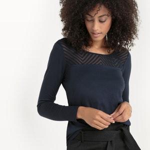 Camisola de mangas compridas, bimatéria SUD EXPRESS