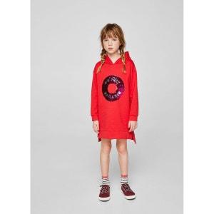 Robe sweat-shirt à sequins réversibles MANGO KIDS