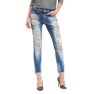 Kim boyfriend jeans avec déchiré SALSA