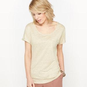 Camiseta de lino ANNE WEYBURN