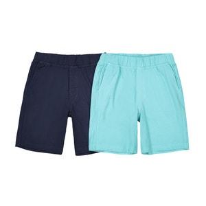 Confezione da 2 shorts 3 - 12 anni La Redoute Collections