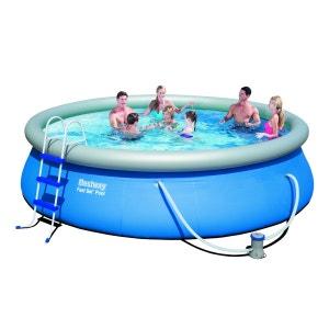 Kit piscine autoportante ronde - 457 x 107cm BESTWAY