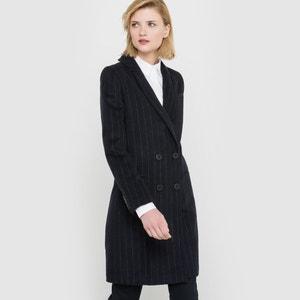 Abrigo raya diplomática, paño de lana atelier R