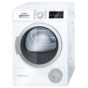 Sèche-linge à condensation WTW87460FF blanc BOSCH