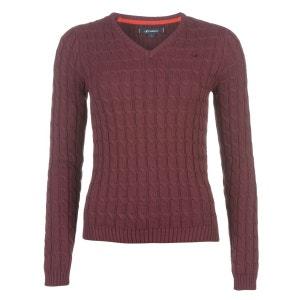 Pull tricot col en v KANGOL