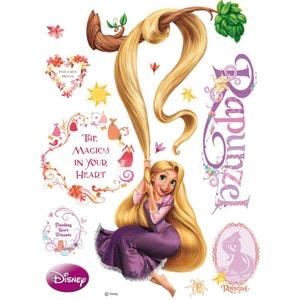 Sticker géant Princesse Raiponce et Arbre Disney WORLDS APART