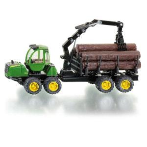 Modèle réduit en métal : Tracteur John Deere Forwarder SIKU