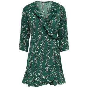 Robe 3/4 textile tissé ONLY