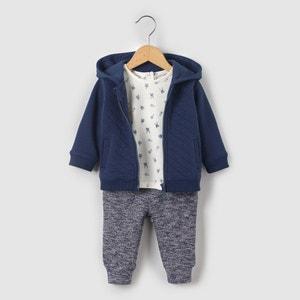 Conjunto sudadera, camiseta y jogpant 1 mes-3 años R mini