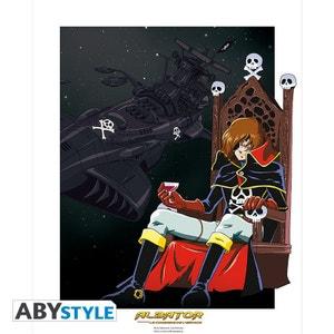 Poster Albator édition numérotée ABYSSE CORP