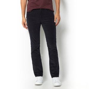 Pantalón de terciopelo 5 bolsillos, corte straight, L. 34 R essentiel