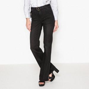 Pantalon Flare en coton stretch VELASKO BA&SH