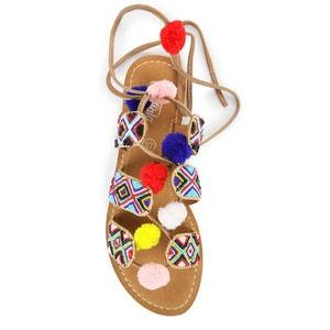 Platte sandalen 7535 BUFFALO