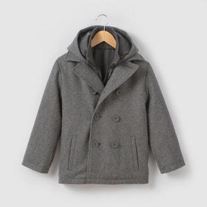 Caban drap de laine 3-12 ans La Redoute Collections