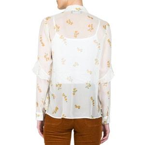 Camicia transparente in seta fantasia THE KOOPLES