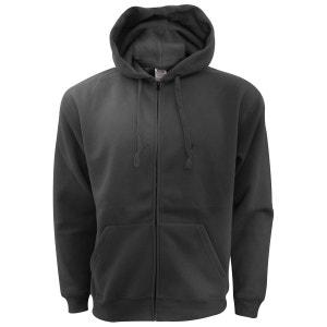Sweatshirt à capuche et fermeture zippée FRUIT OF THE LOOM