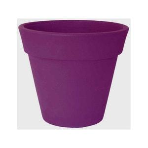 "Pot pour fleurs ""Omega"" - Prune - Ø 35 cm HABITAT ET JARDIN"