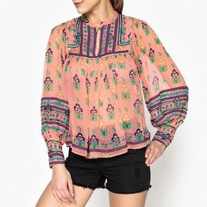 Top blouse en voile imprimé MIA BLOUSE ANTIK BATIK