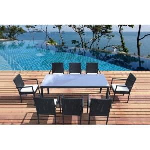 Rotin la redoute - La redoute table de jardin en resine tressee ...
