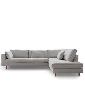 Canapé d'angle droit tissu Stockholm DRAWER
