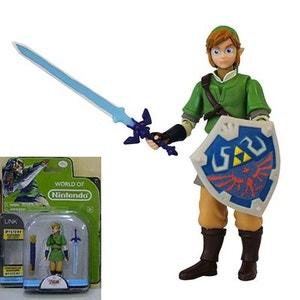 Zelda - Figurine + accessoire Link 10cm JAKKS PACIFIC
