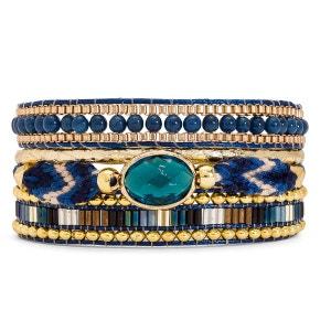 Bracelet femme bleu Lapis-Mini HIPANEMA