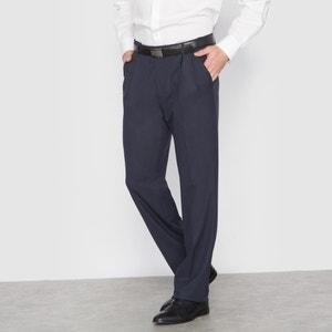 Брюки от костюма с защипами из ткани стретч, длина. 1 CASTALUNA FOR MEN