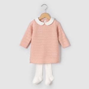 Ensemble robe et collants 1 mois-3 ans La Redoute Collections
